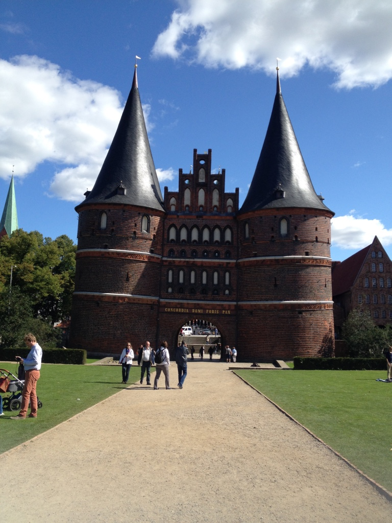 Holstentor, Lübeck - Gamesforlanguage.com