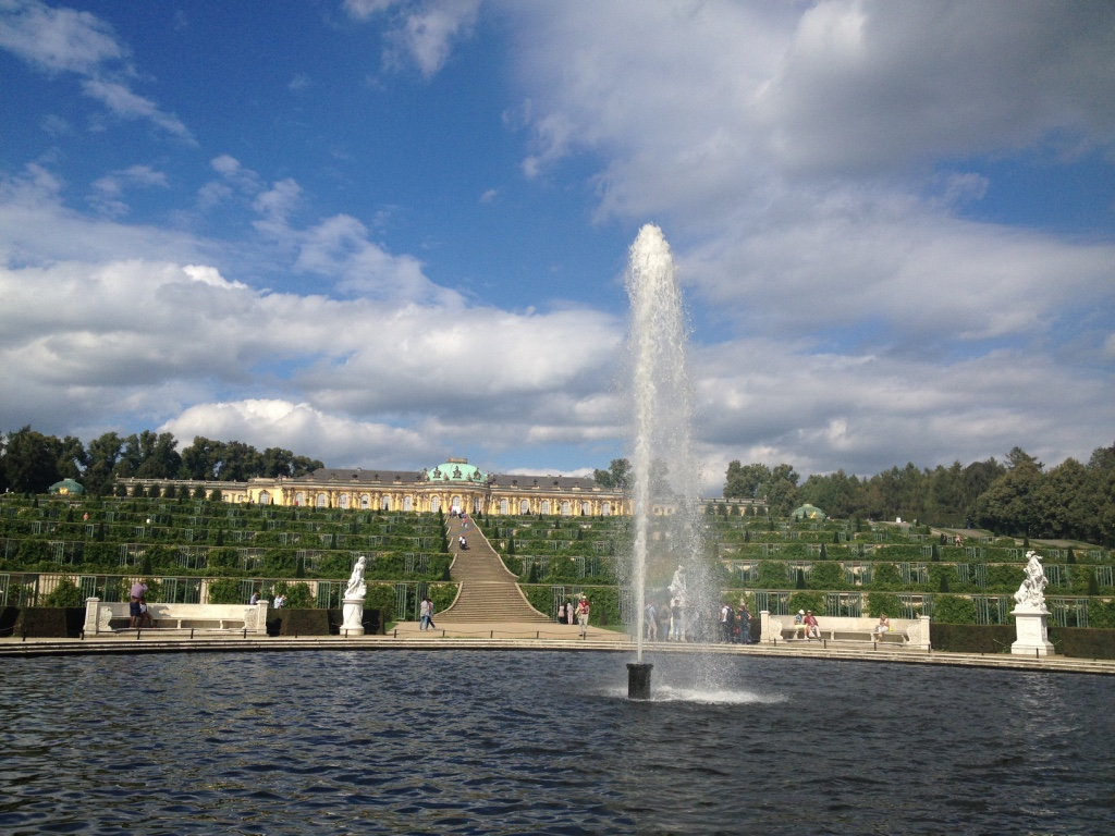 Sanssouci, Potsdam - Gamesforlanguage.com