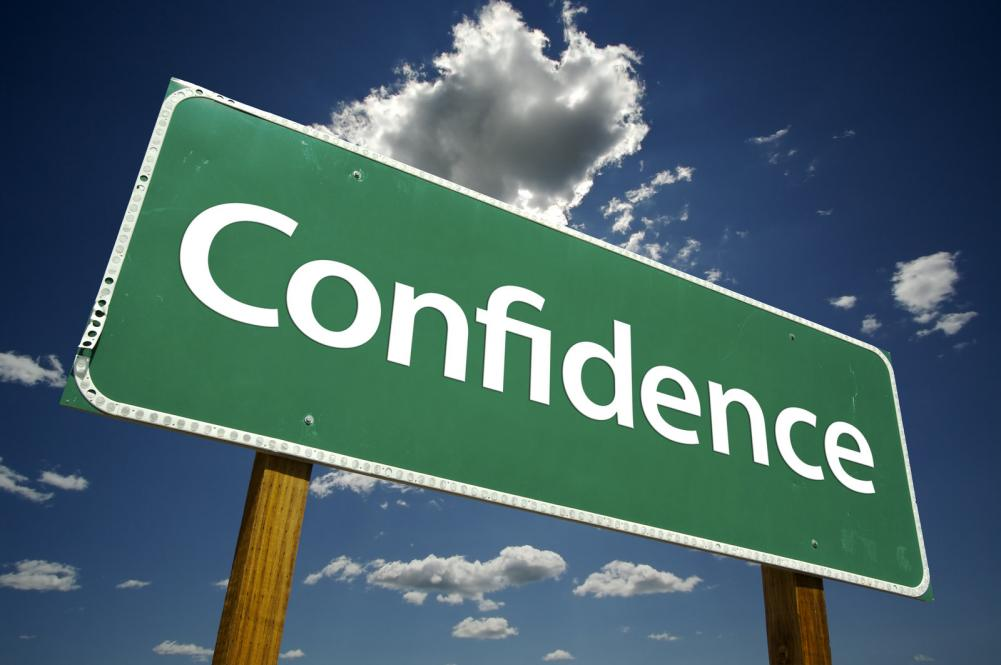 Confidence Sign - GamesforLanguage.com