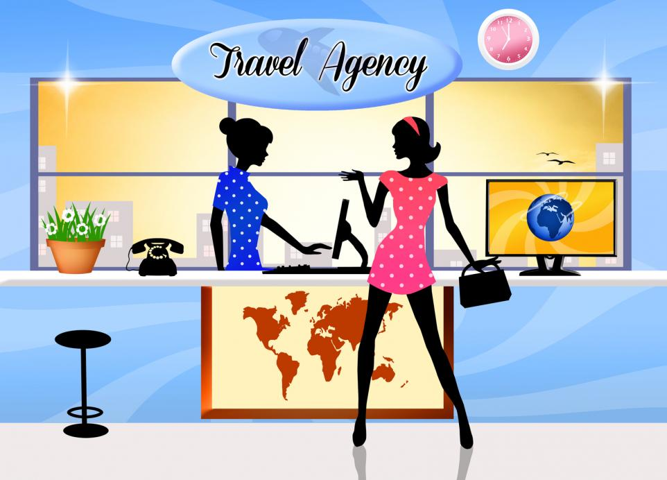 Travel agency - Gamesforlanguage.com
