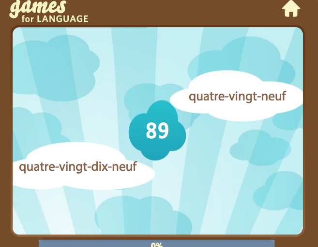 French number 89 - Gamsforlanguage.com