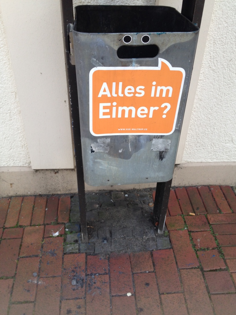 Alles im Eimer? - Gamesforlanguage.com