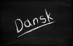 Danish - dansk sign