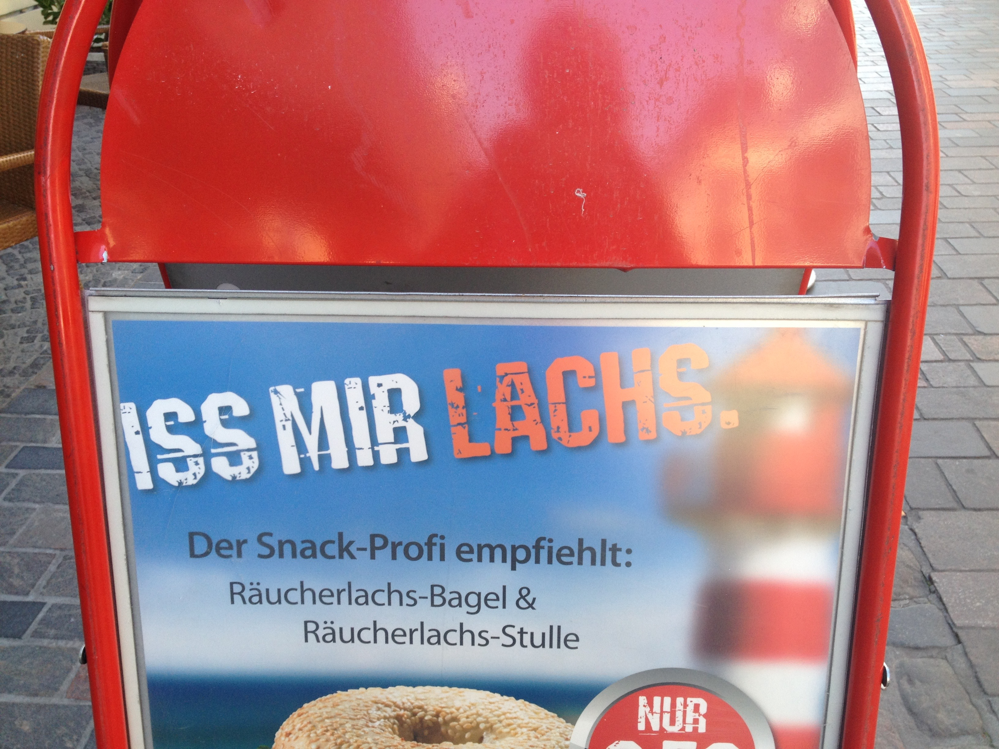 Iss mir Lachs - Gamesforlanguage.com