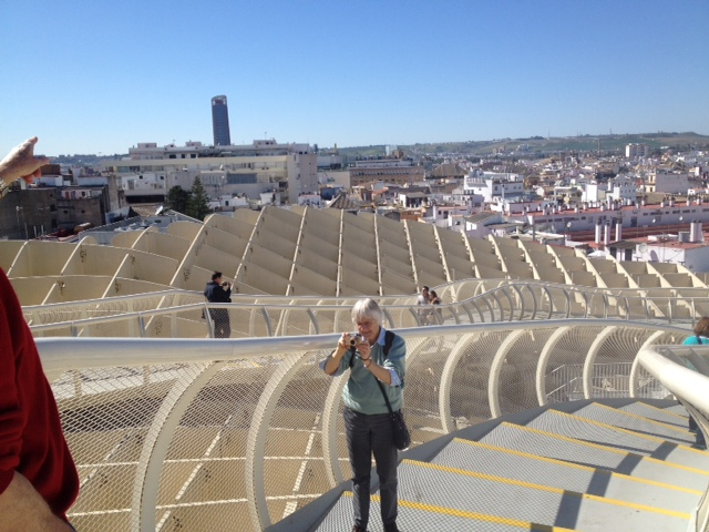 Top of Las Setas, Seville - Gamesforlanguage.com