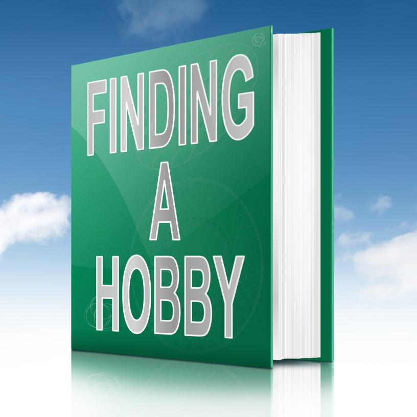 Finding Hobby concept