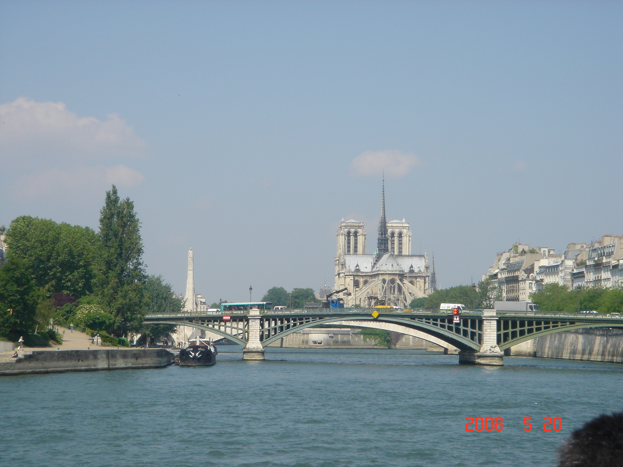 a cruise on the Seine_Paris