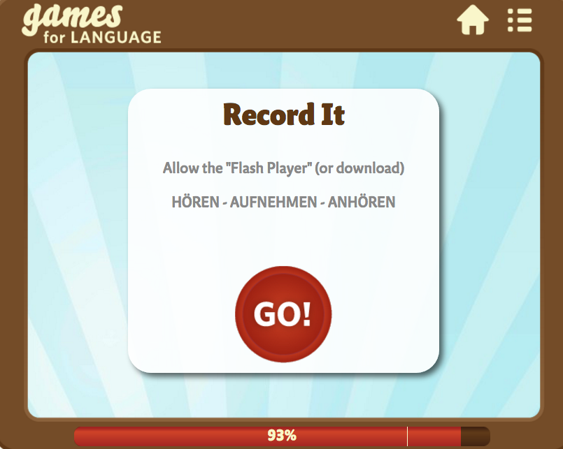 Record It - Gamesforlanguage.com