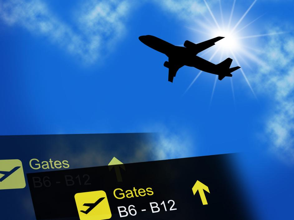 Traveling by plane - Gamesforlanguage.com