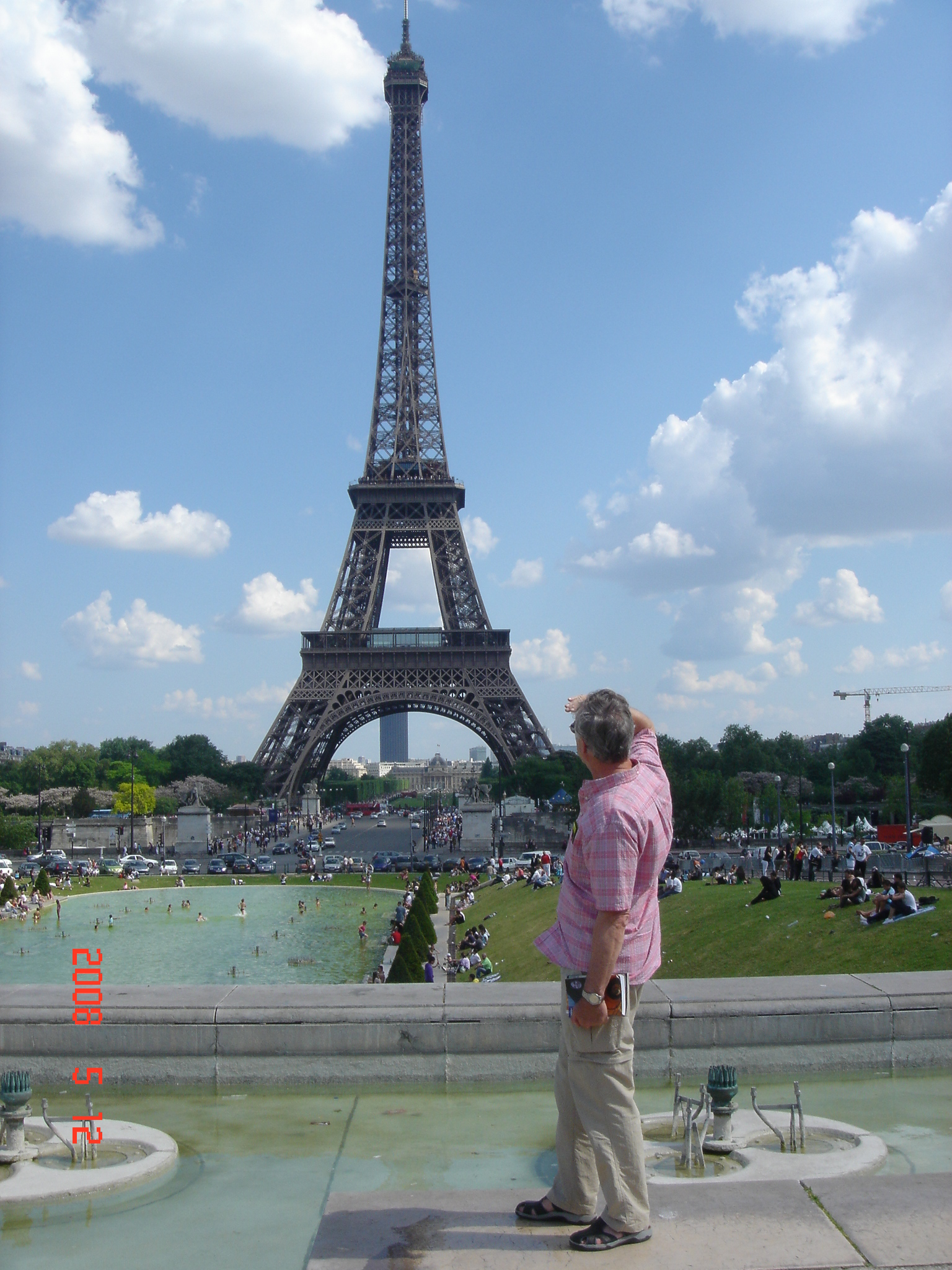 TRAVEL MEMEORIES OF THE TROCADERO AND EIFFEL TOWER