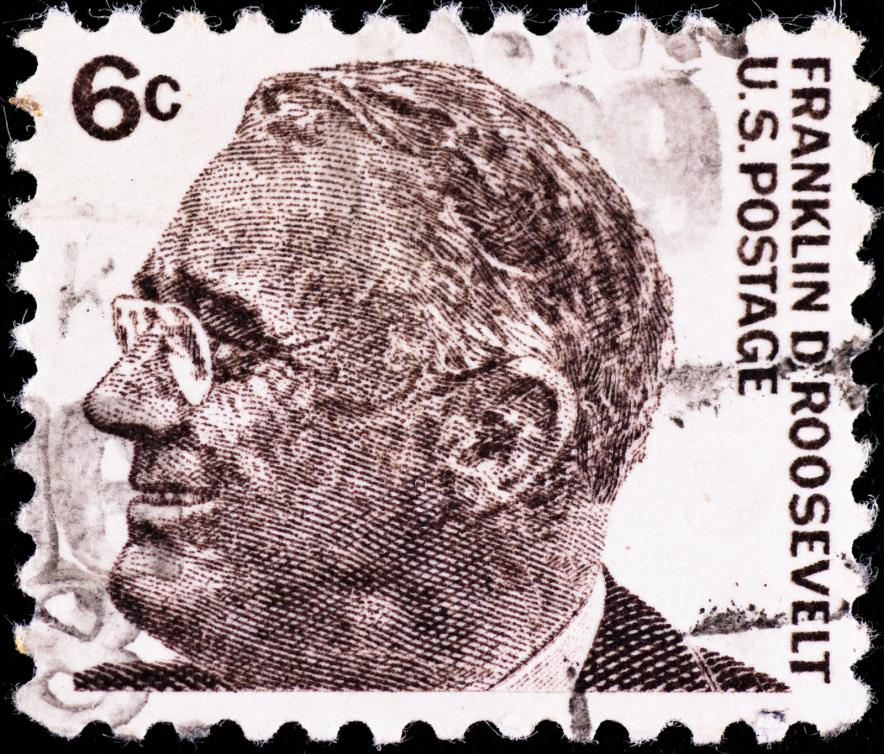 Franklin Roosevelt stamp