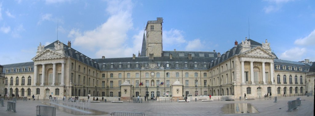 view of Ducal Palace, Dijon - France