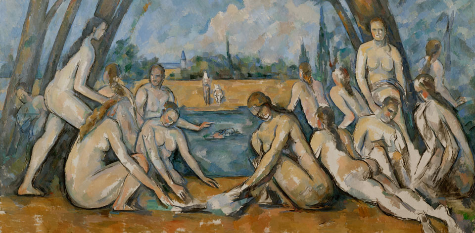 Cézanne The large bathers