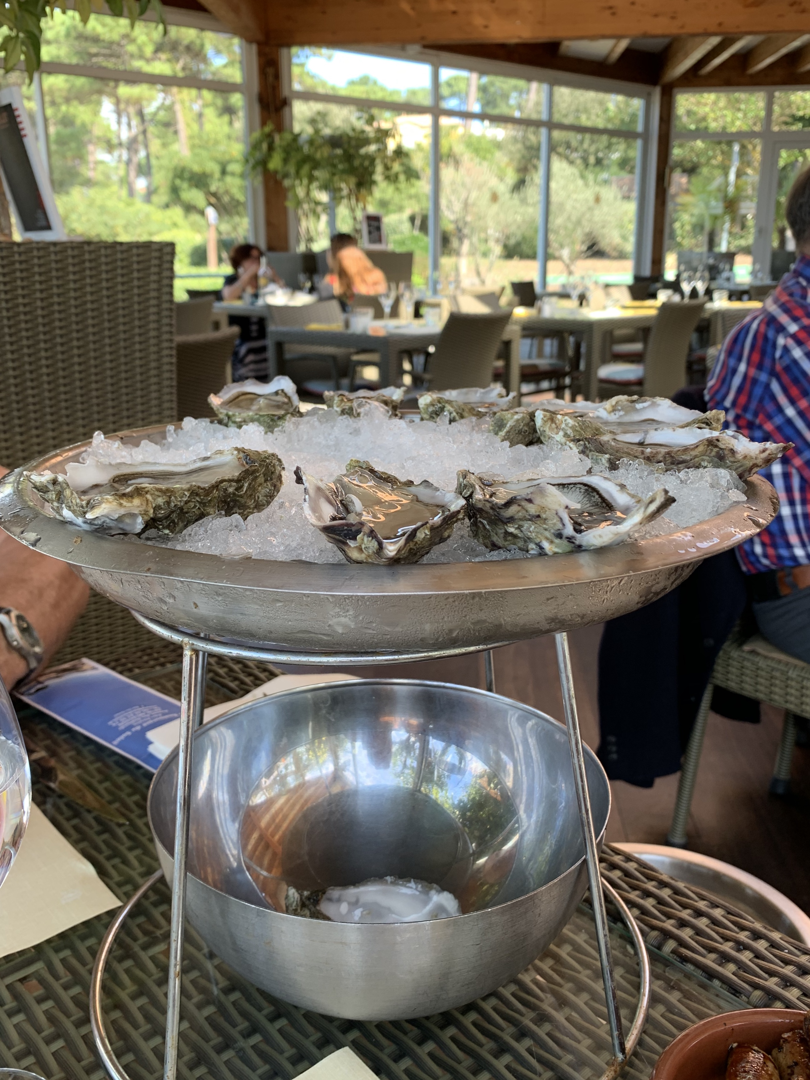 Oysters lunch @ Arcachon