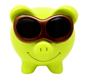 Piggy Bank - yellow - pixabay.com