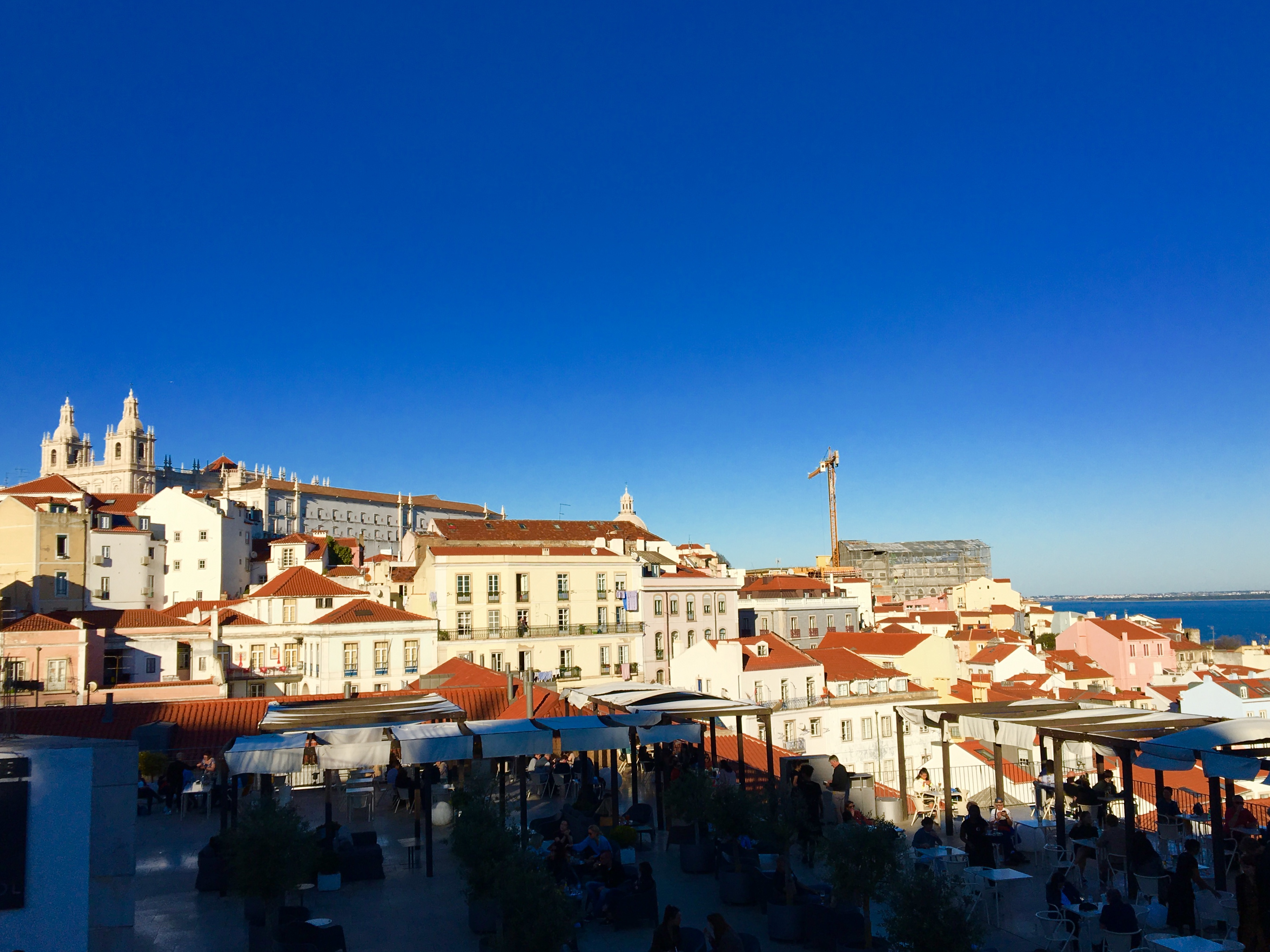Overlook of Lisbon