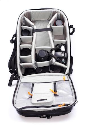 backpack with compartments