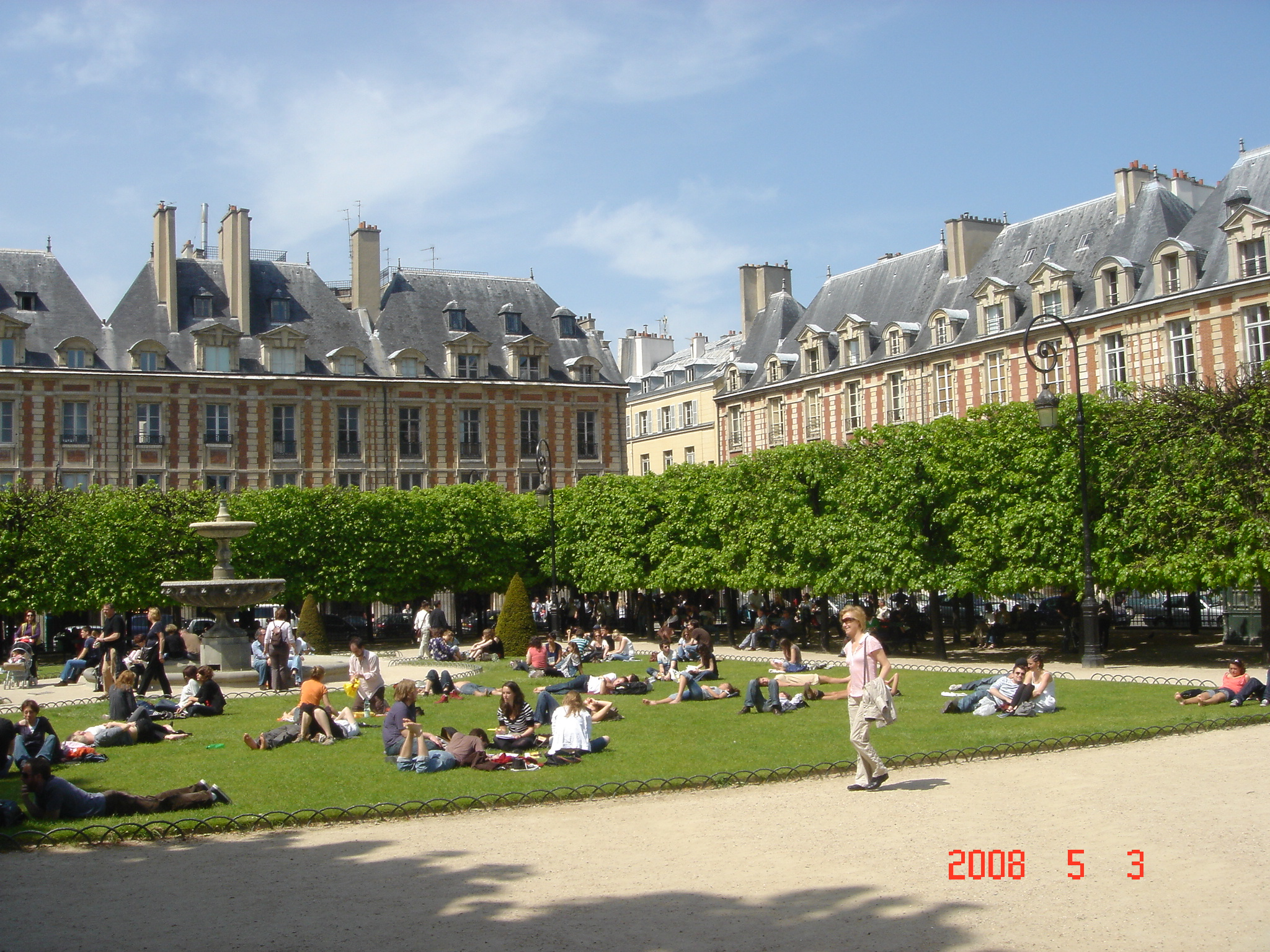 Place de Vosges - Gamesforlanguage.com