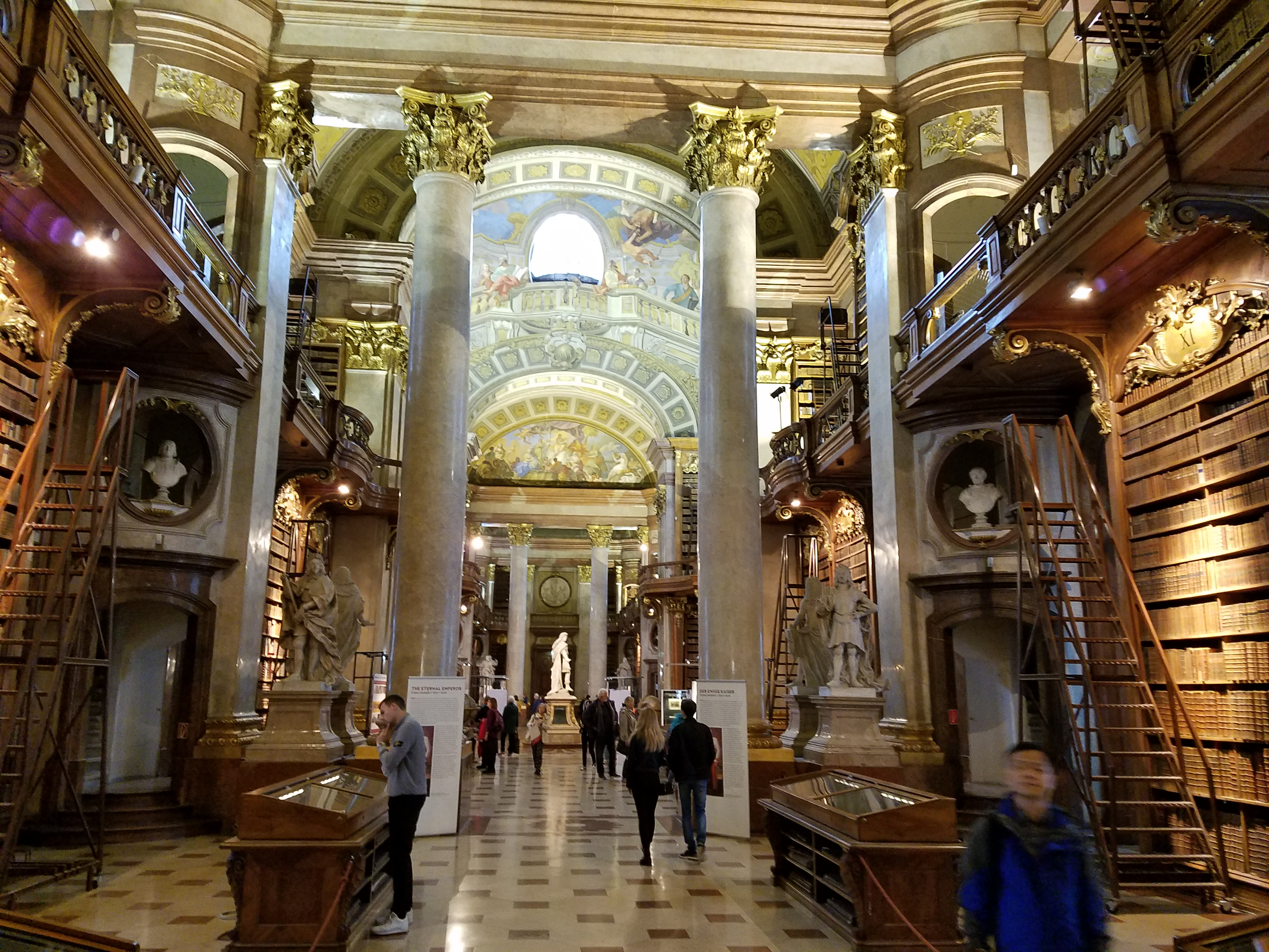 Austrian National Library: Prunksaal - Gamesforlanguage.com