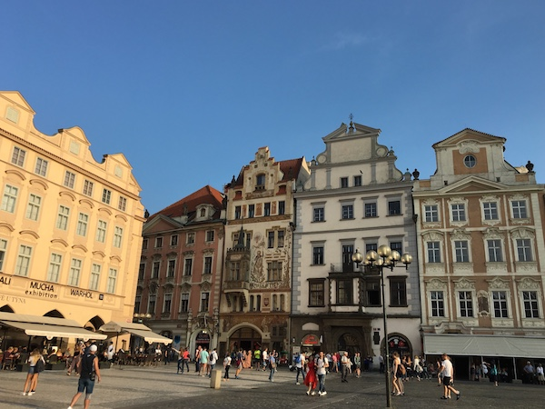 Old Town Square, Prague in 2018