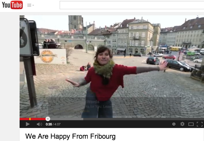 Happy in Fribourg song