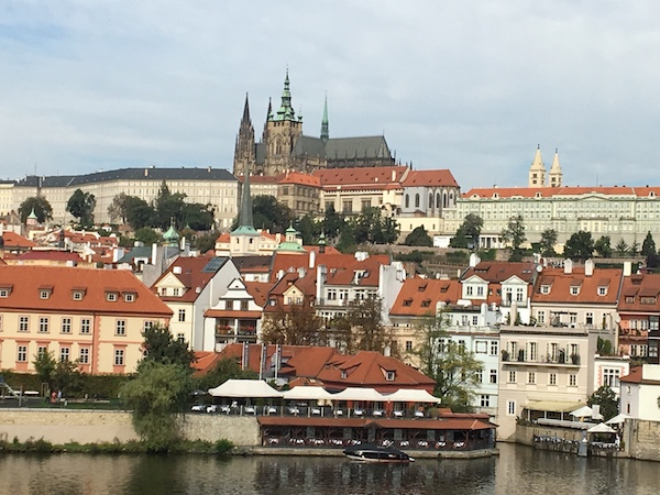 View of The Castle, Prague
