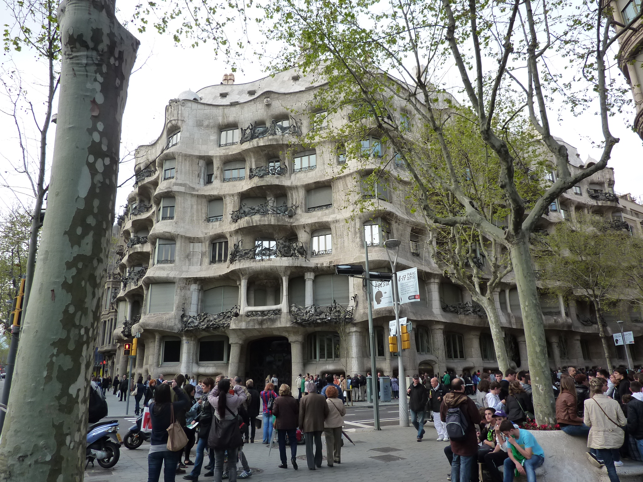 travel memories with Gaudí's Casa Milà 2012 - Gamesforlanguage.com