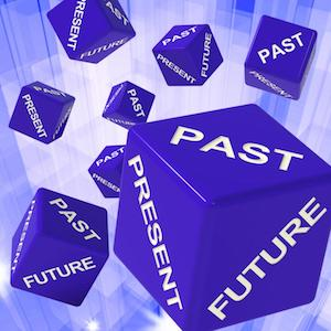 Present - Past - Future dices