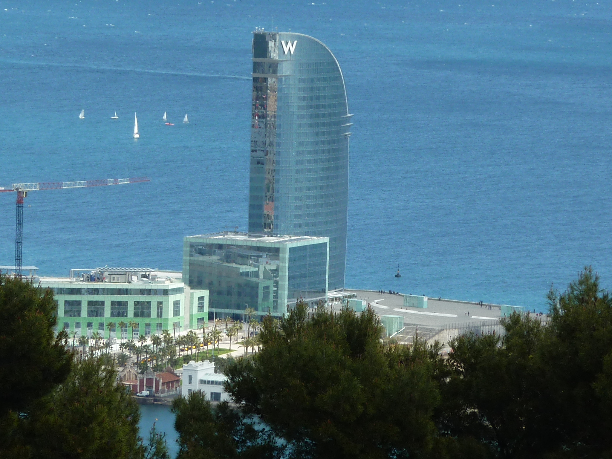 W-Hotel at Barcelona Beach - Gamesforlanguage.com