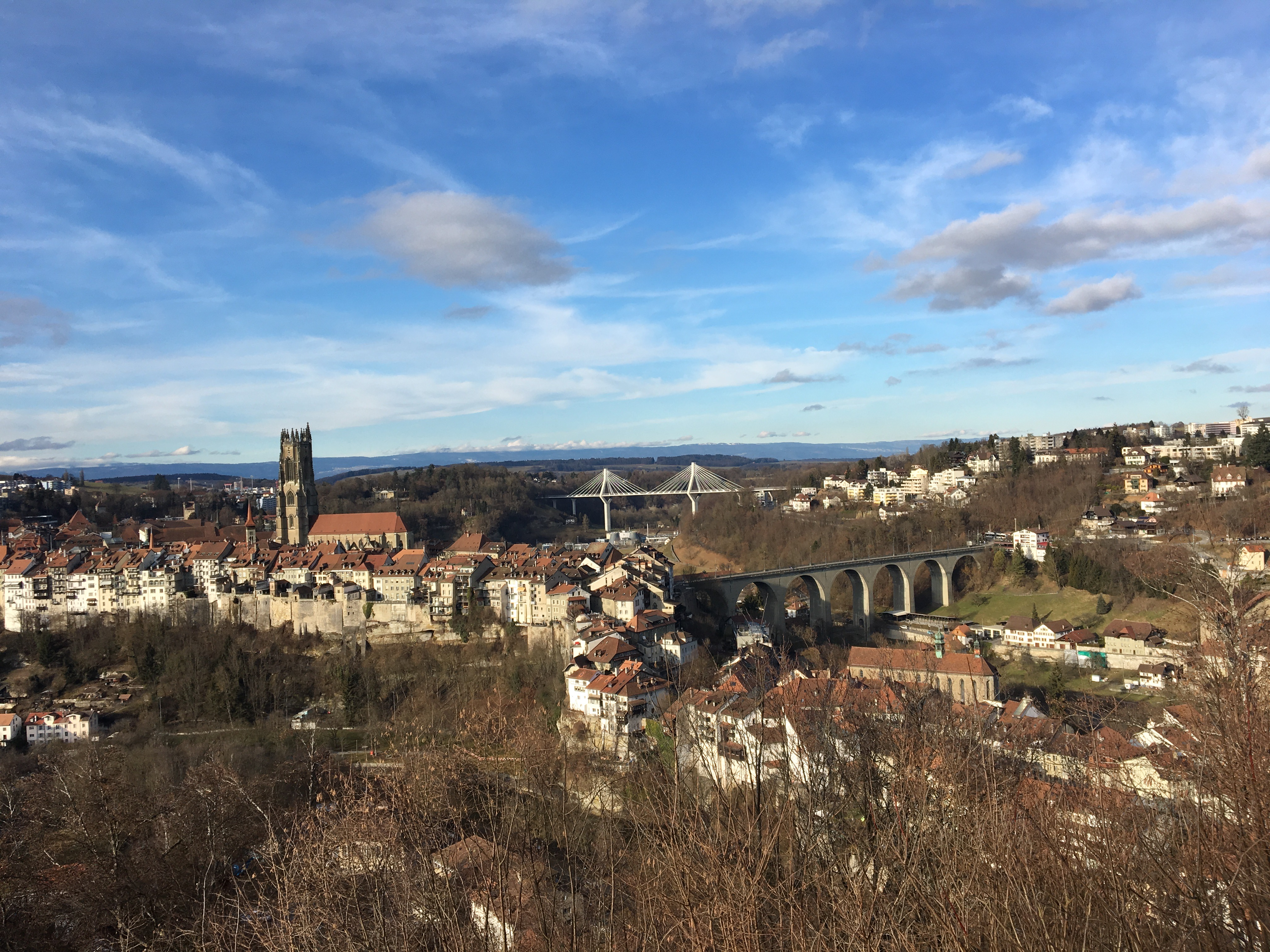 Fribourg Bridges - Gamesforlanguage.com