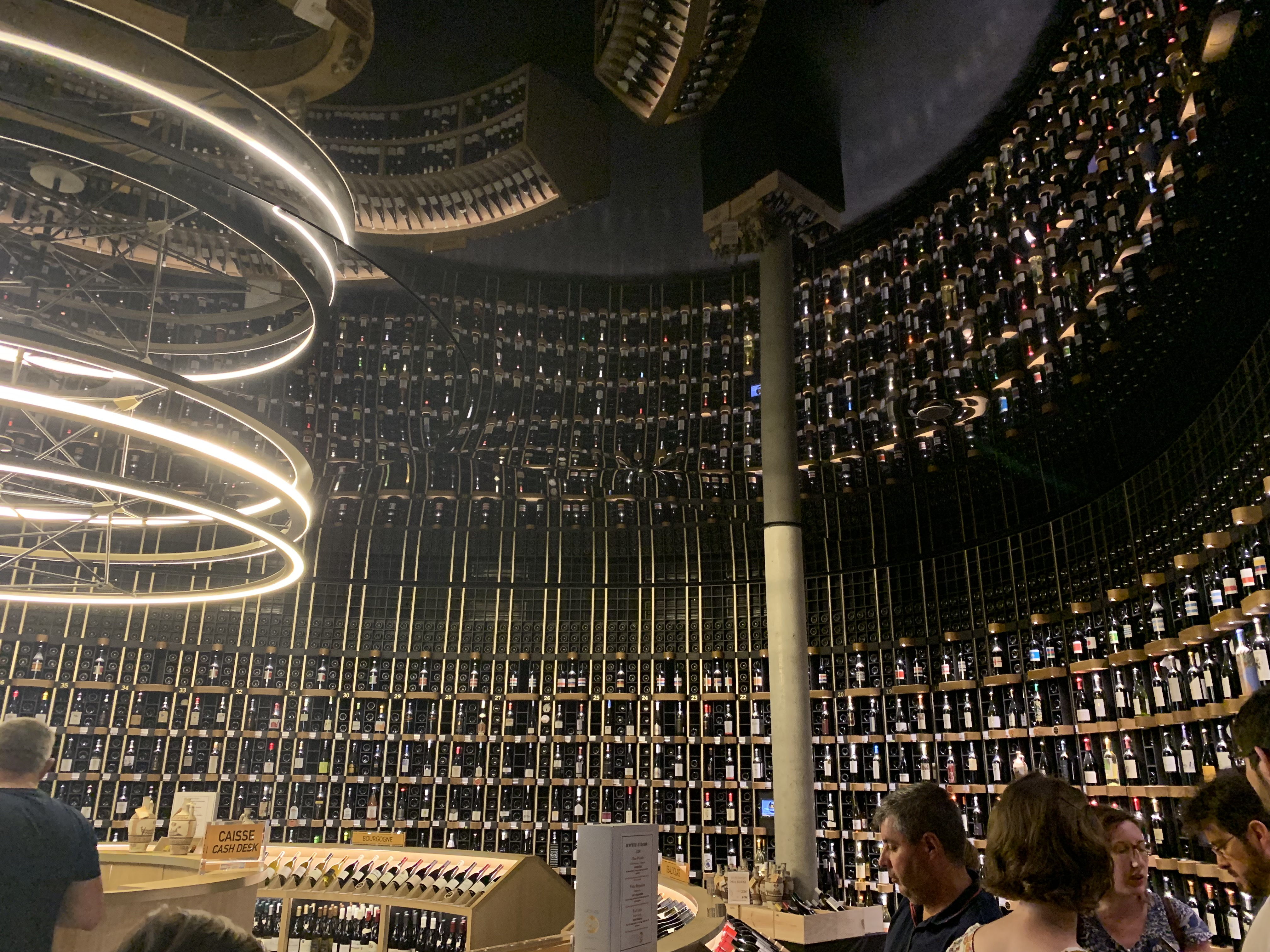 Cité du Vin wine shop
