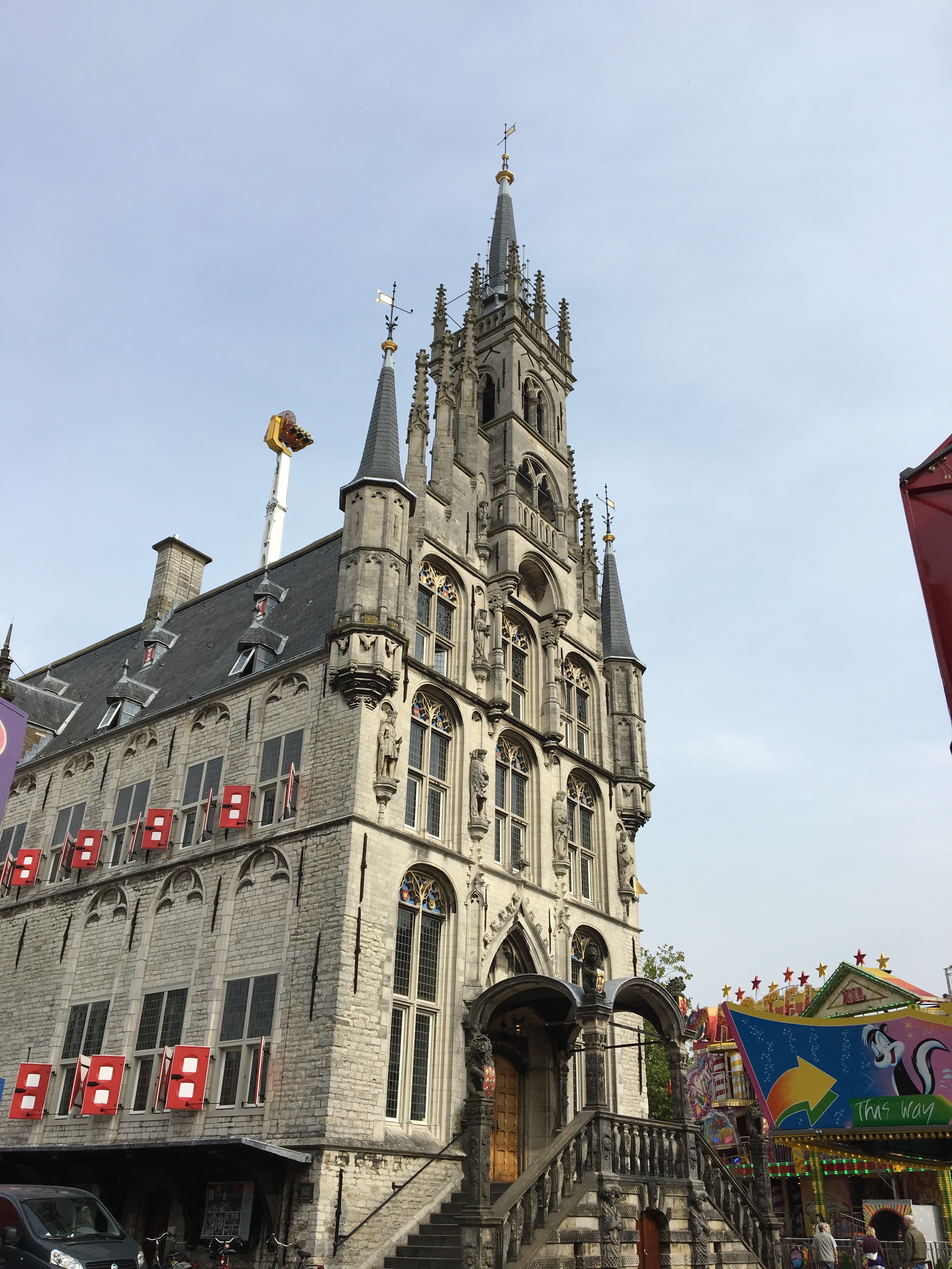 Gouda City Hall - Gamesforlanguage.com