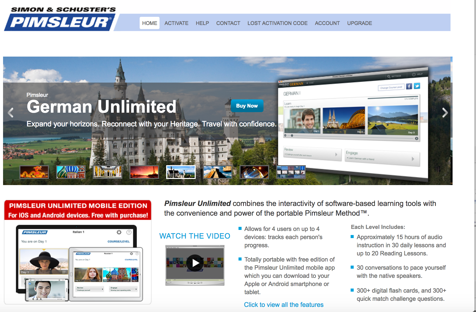 Pimsleur German Unlimited screenshot
